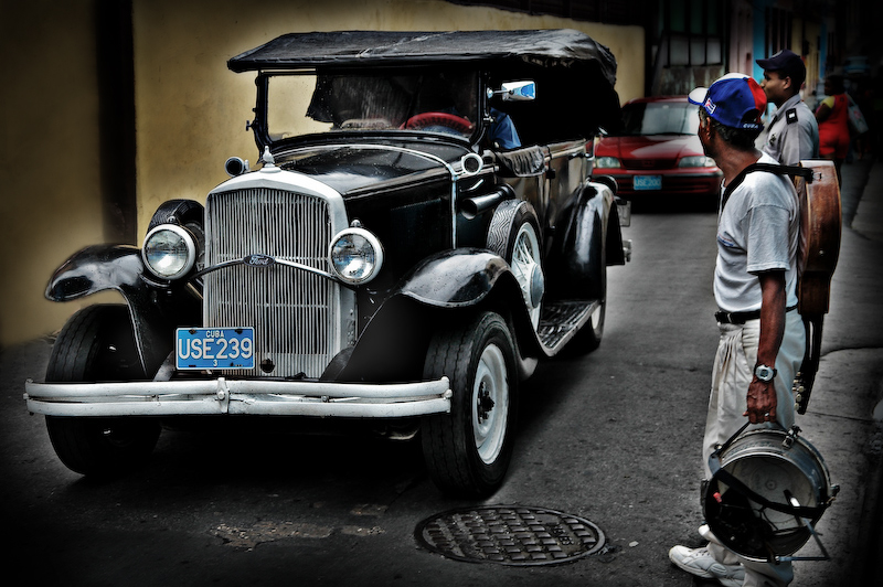 old car - havanna