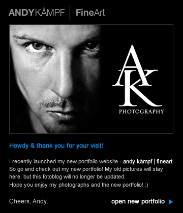 new portfolio andy kämpf | fineart